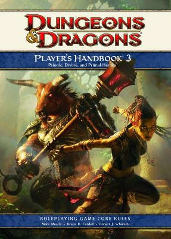 The Dungeons and Dragons Player's Handbook 3 offers new races and powers to help players create even more engaging characters for the fantasy role-playing game. Photo: WIZARDS OF THE COAST