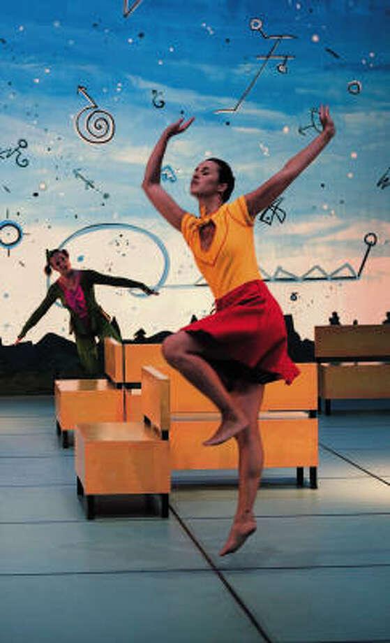 Members of Ballet de Lorraine of Nancy, France, perform Les Petites Pieces de Berlin. Photo: Laurent Philippe