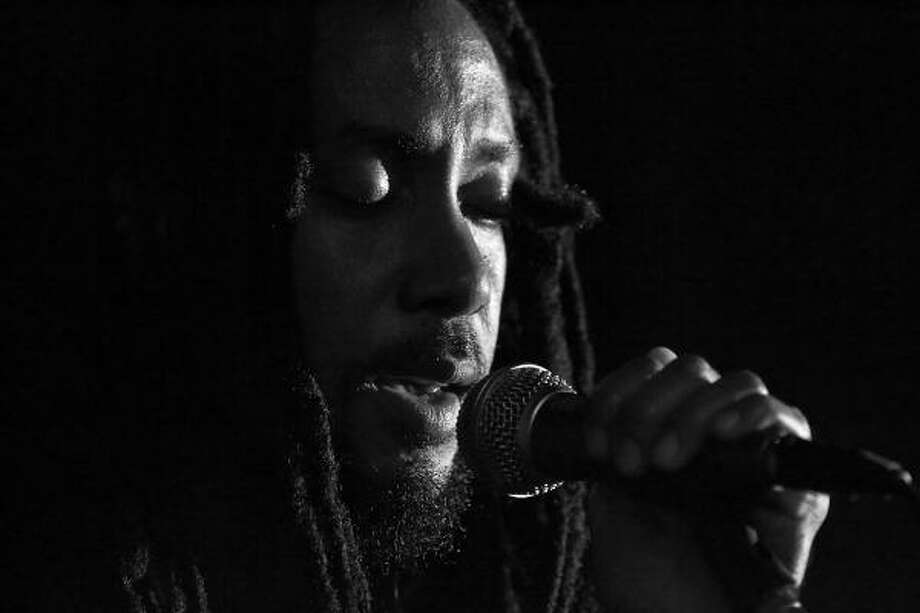 Taj Weekes is from St. Lucia and developed his style of reggae after listening to many types of music. Photo: Scott Evans