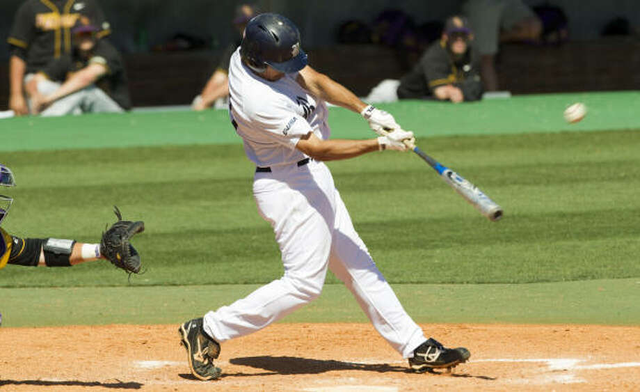 Rice third baseman Anthony Rendon is a candidate for national player of the year. Photo: Brett Coomer, Chronicle