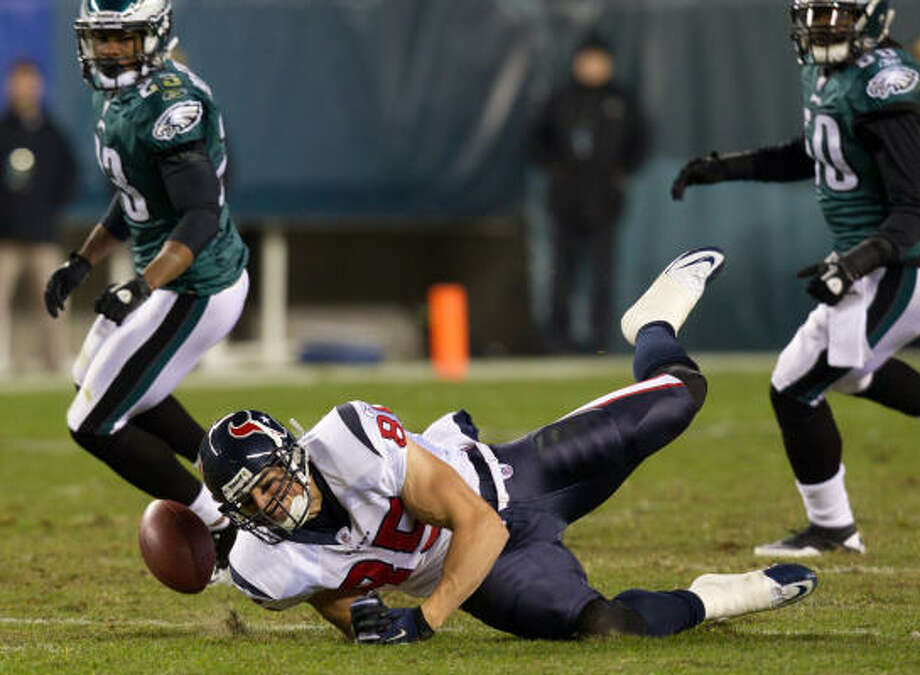 ESPN analyst Tom Jackson admitted that he is mystified at the Texans' struggles as they approach their Monday night game against the Ravens. Photo: Smiley N. Pool, Chronicle