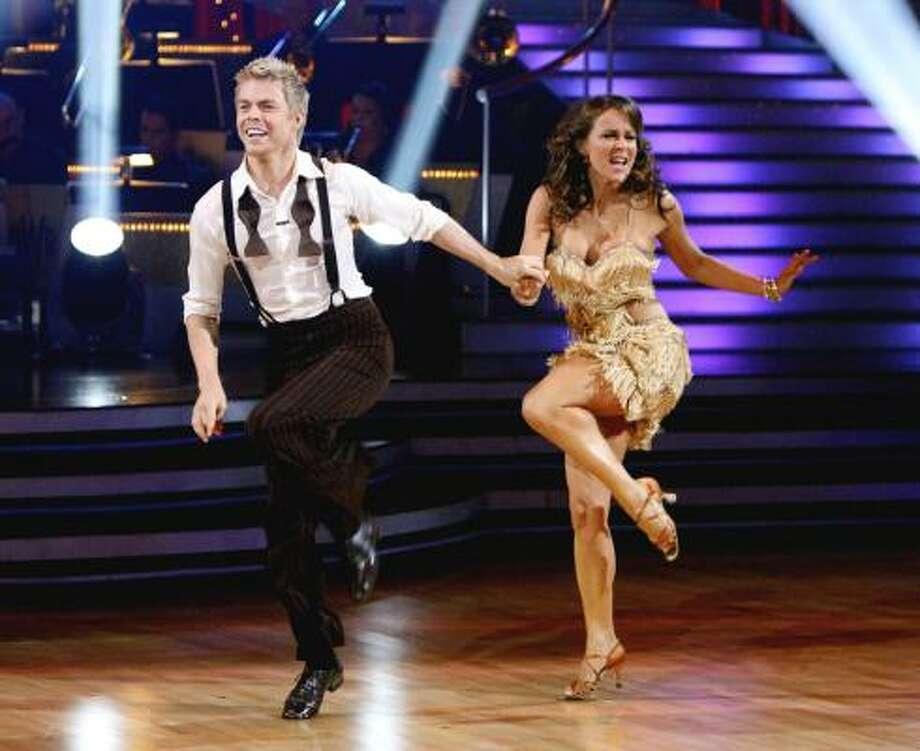 Derek Hough and Jennifer Grey Photo: ABC