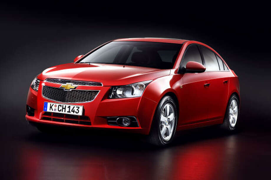 Chevrolet's 2011 Cruze compact sedan is expected to deliver up to 40 mpg with its Ecotec 1.4-liter I-4 turbo engine. Cruze goes on sale in the United States in the third quarter of 2010. Photo: Axel Wierdemann