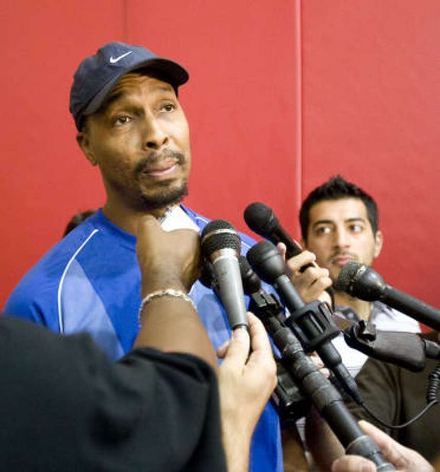 Rockets assistant coach Elston Turner has been with the Rockets for three seasons after six as an assistant coach under Rockets coach Rick Adelman in Sacramento. Photo: Chronicle File Photo