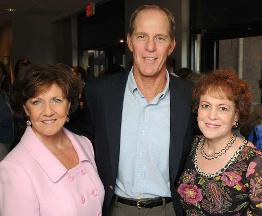 Dorothy Weston Gibbons, from left, Steve Ford and Regina Rogers Photo: Dave Rossman, For The Chronicle