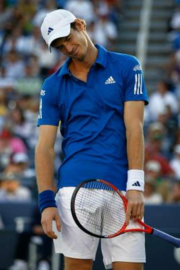 Another Grand Slam event ends in bitter disappointment for Andy Murray. Photo: Matthew Stockman, Getty Images