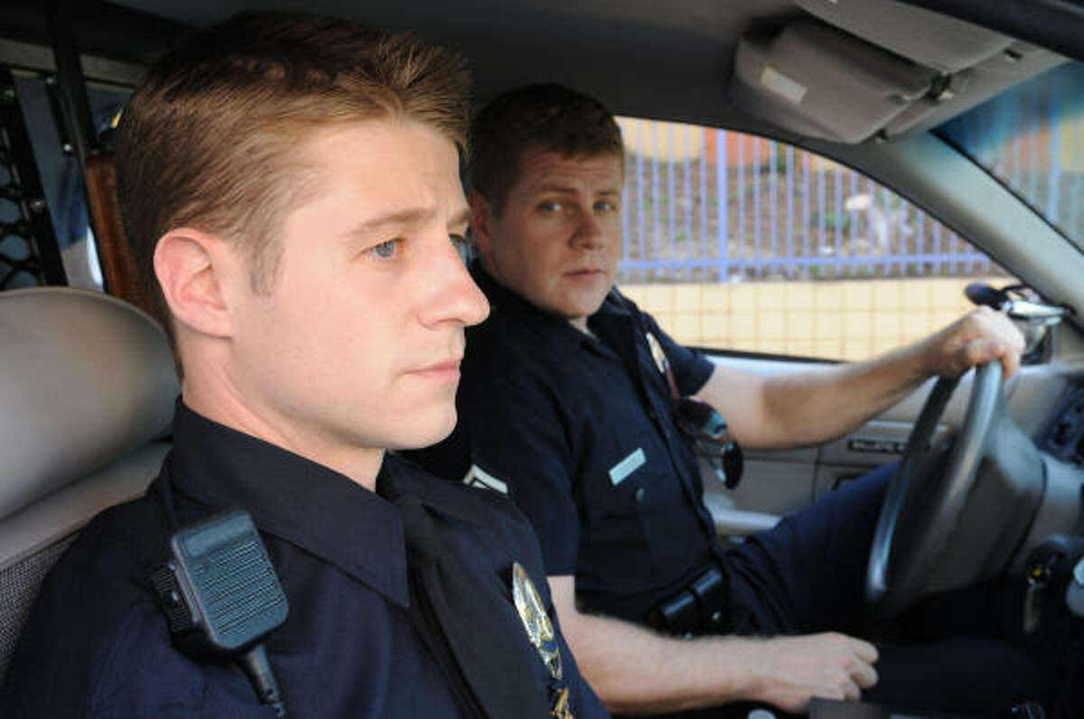 Southland's real-life feel was a big change for Ben McKenzie, left, who used to star on The O.C.