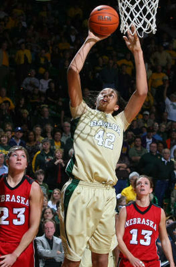 While the Bears have struggled lately, Brittney Griner has been a menace for opponents. Photo: Jerry Larson, AP