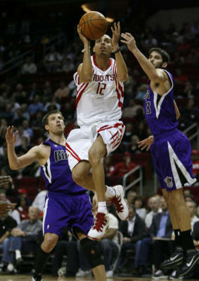 Kevin Martin's former team, the Kings, handed the Rockets their most recent loss. Photo: Karen Warren, Chronicle