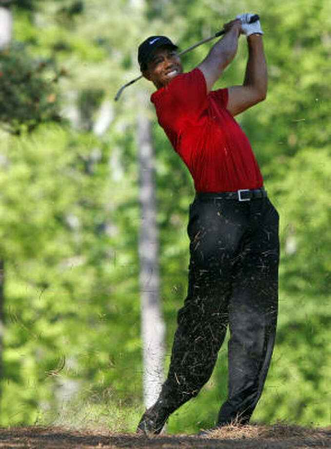 Tiger Woods will only find more trouble the more he speaks, Jerome Solomon writes. Photo: Gerry Melendez, MCT