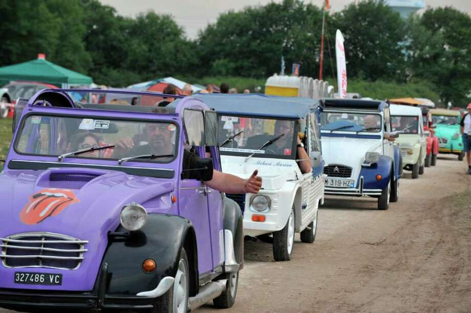 citroen 2cv friends