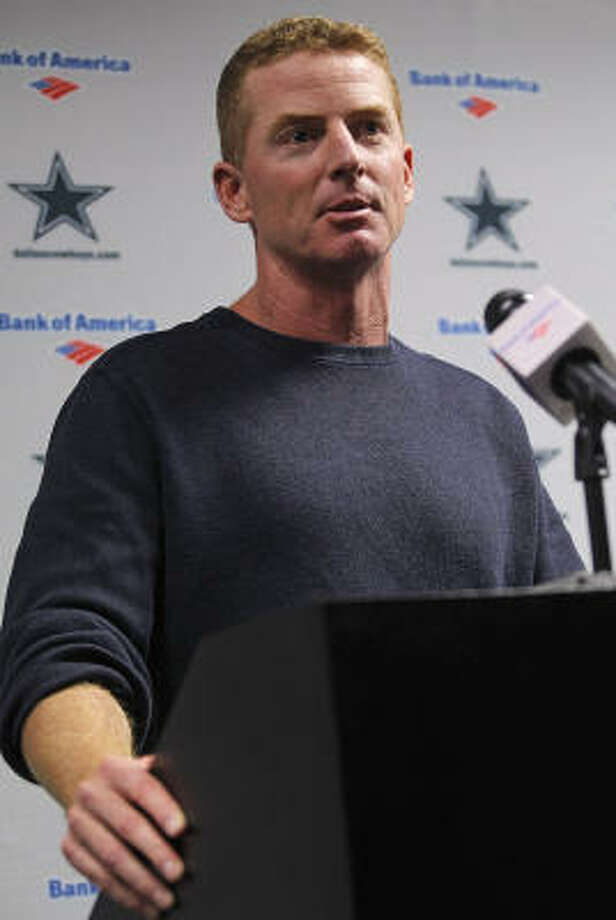 Jason Garrett will have eight games to prove to Cowboys owner Jerry Jones that he should be named the permanent head coach. Photo: Rodger Mallison, MCT