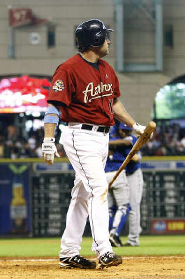 The Cardinals are gambling that Lance Berkman still can be an effective outfielder. Photo: Karen Warren, Chronicle