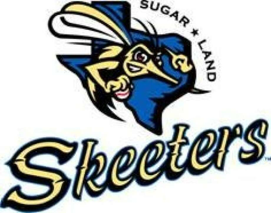 JUST UNVEILED: The logo of the newly-named Sugar Land Skeeters features a mosquito.