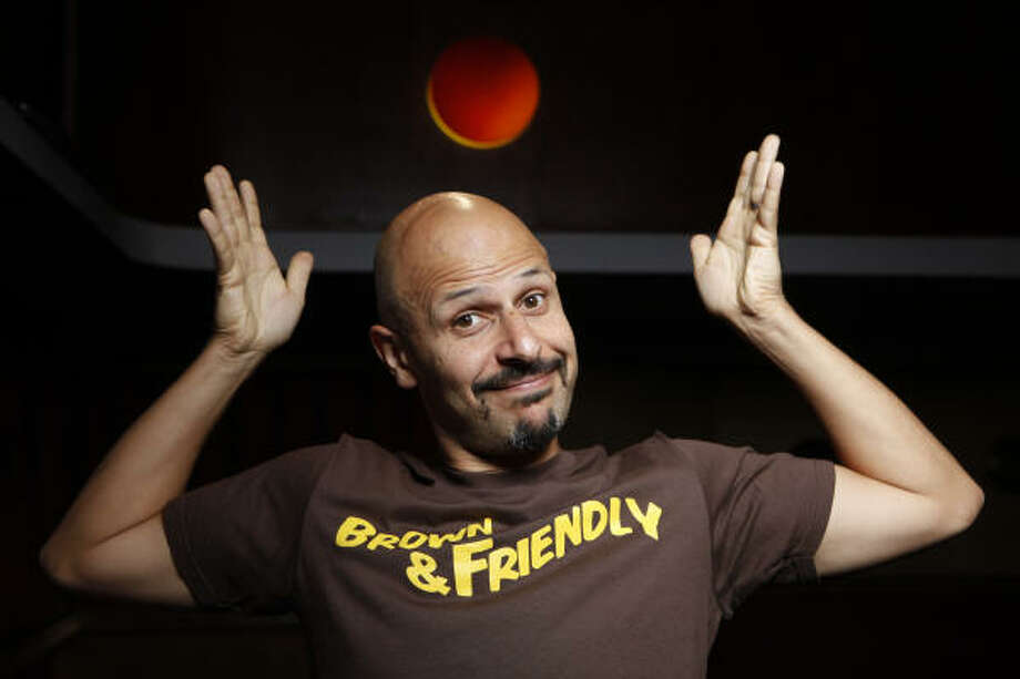 Maz Jobrani is a member of the Axis of Evil comedy troupe, which includes L.A. comedians Aron Kader and Anmed Anmed. Photo: DAMIAN DOVARGANES, ASSOCIATED PRESS