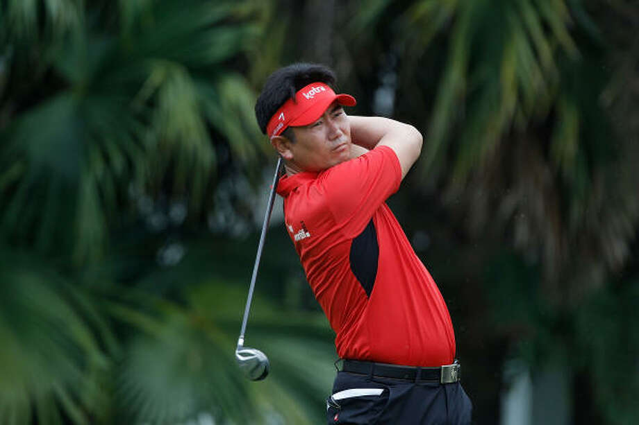 Y.E.Yang is the third of the four 2009 major champions to commit to play at Redstone. Photo: Scott Halleran, Getty Images