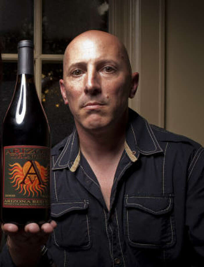 "Although Maynard Keenan collected multiple platinum albums for his bands Tool, A Perfect Circle and Puscifer, he's looking for a different kind of accolade. ""I want my legacy,"" he said, ""to be my wines - and Arizona's wines - rather than my music."" Photo: ERIC KAYNE"