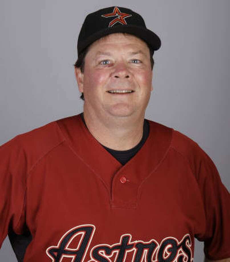 Mike Barnett has previously worked with Astros manager Brad Mills. Photo: David J. Phillip, AP