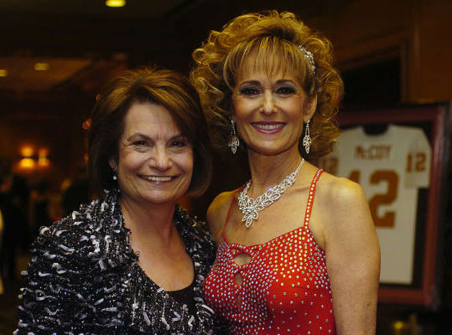 Eileen Muslin, left, and Karen Freedman served as co-chairs for Red, Hot and Rhythm, the National Council of Jewish Women Greater Houston Section's 26th annual gala. Photo: Shaminder Dulai