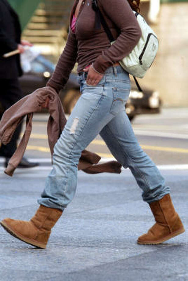 Ugg boots were at the root of an inconsistent fashion trend. Photo: Gary Friedman, Los Angeles Times