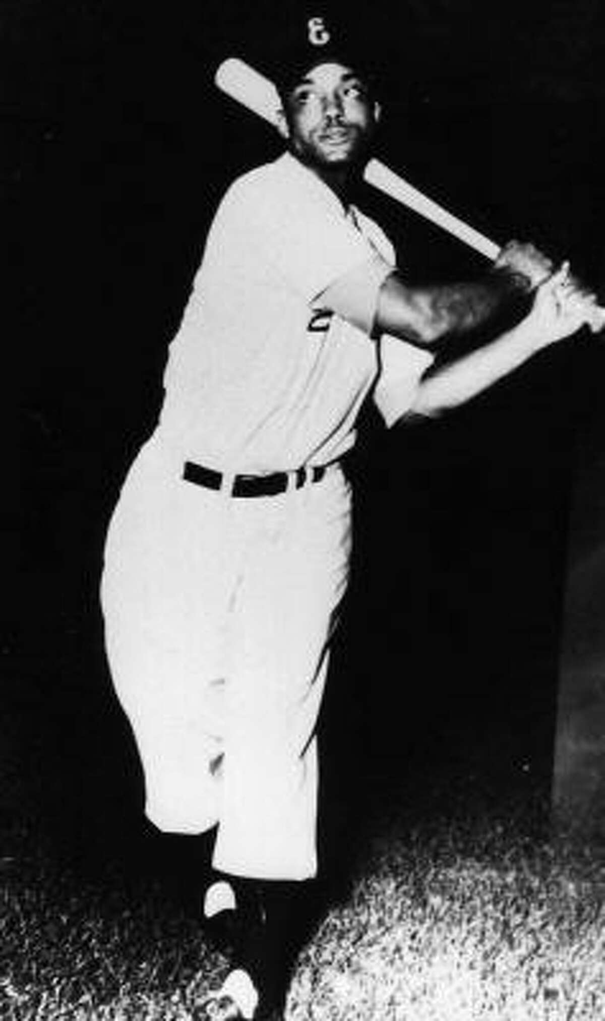 Monte Irvin played shortstop for the Newark Eagles in 1946, when they won the Negro Leagues championship.