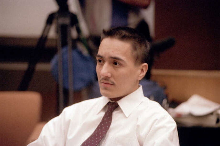 Peter Anthony Cantu, convicted of murder, is shown at his trial on Feb. 9, 1994. Photo: Houston Chronicle File