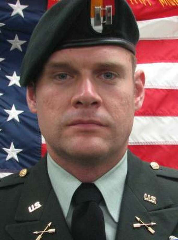 Capt. Jason Holbrook, of Burnet, died from injuries sustained in the blast Photo: Defense Department