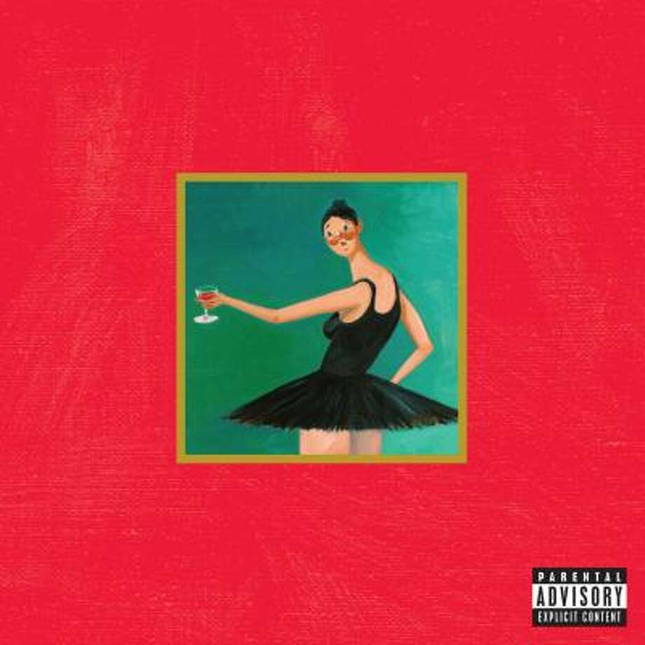 Cover art for Kanye West - My Beautiful Dark Twisted Fantasy.