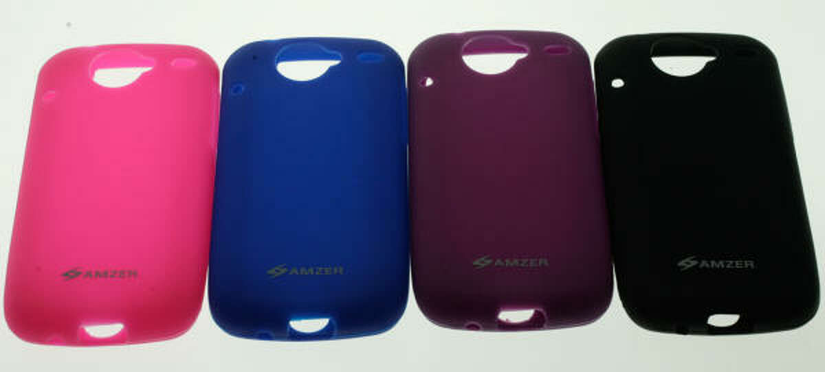 The Silicone Skin Jelly Case was created by cell phone accessory company Amzer, which is based in Sugar Land.