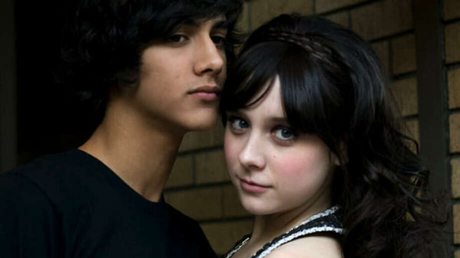 Zoe Graystone (Alessandra Torresani) is romantically involved with Ben Stark (Avan Jogia), a radical monotheist, in Capricia. Photo: Syfy