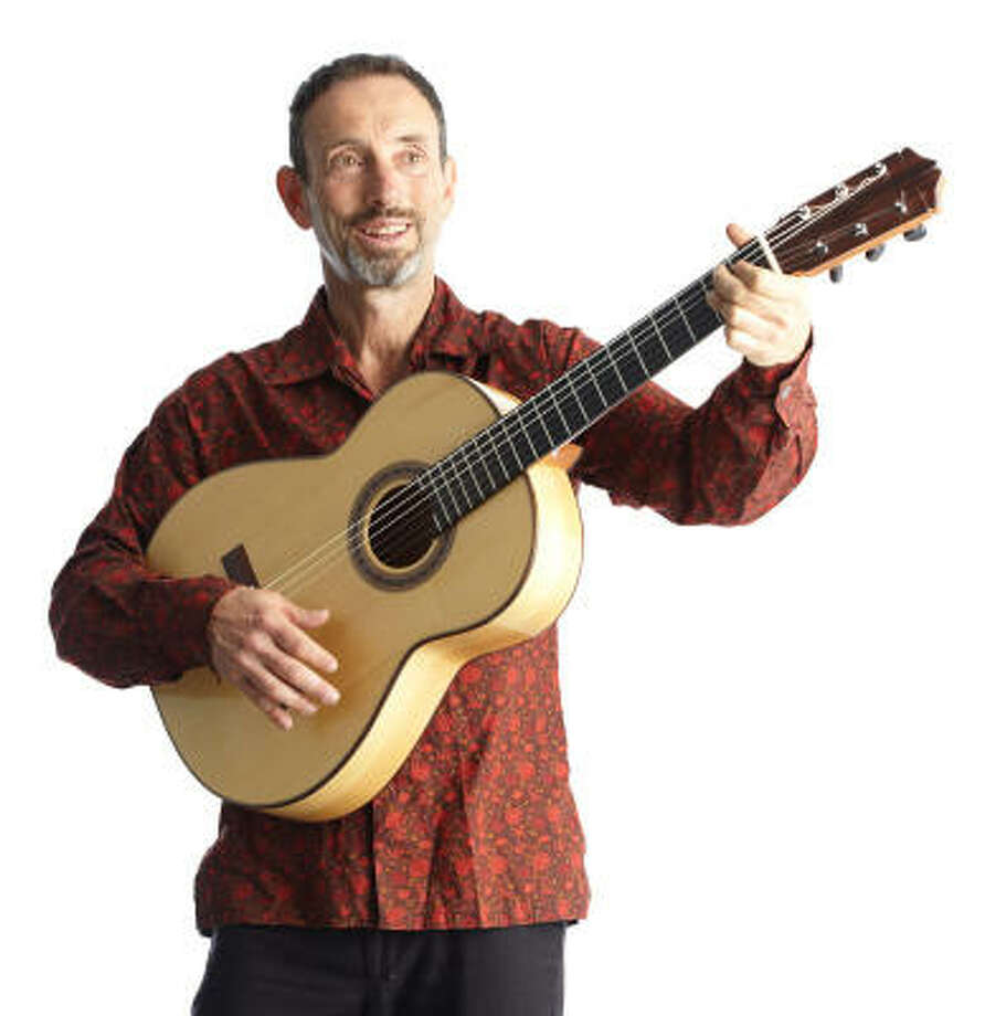 Singer-songwriter Jonathan Richman prefers to let his music do the talking, many times shaking his head instead of answering a reporter's questions about his songs. Photo: Rory Earnshaw