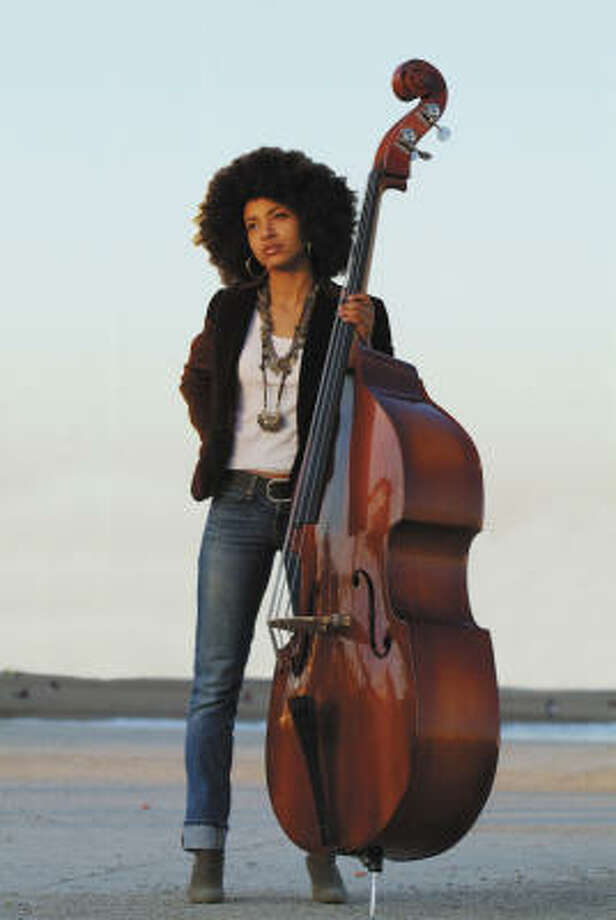 On April 24, jazz bassist Esperanza Spalding's got a sold-out show at the Wortham Center's Cullen Theater Photo: Heads Up International