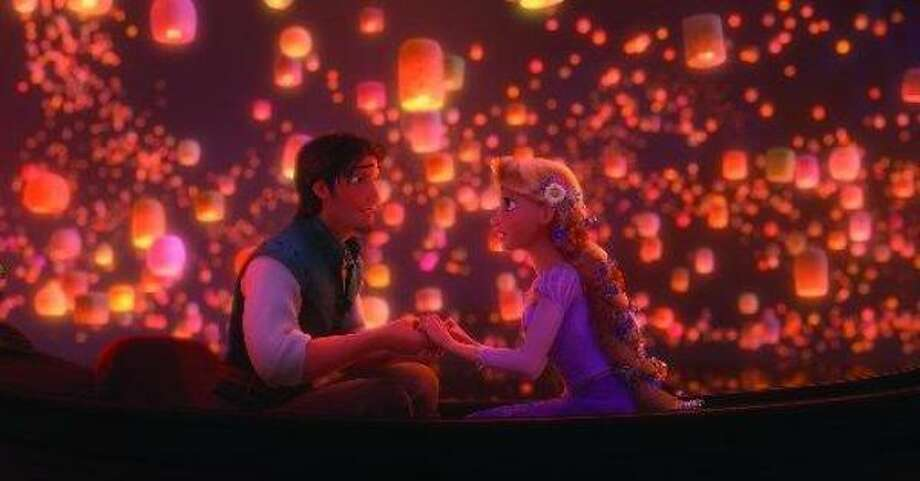Zachery Levi and Mandy Moore star in Rapunzel. Photo: Disney