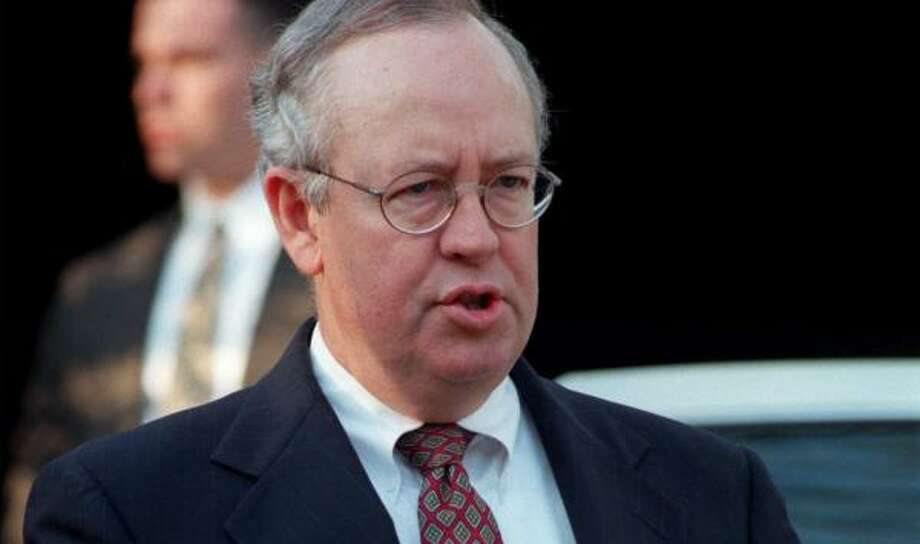 Ken Starr will be introduced Tuesday in Waco. Photo: JOEL RENNICH, AP