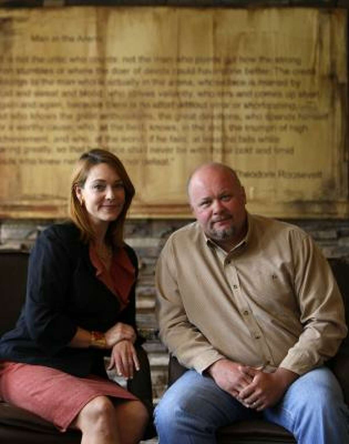 Amber Anderson and husband Steve Mostyn, of the Mostyn Law Firm, plan to spend millions in Democratic races.
