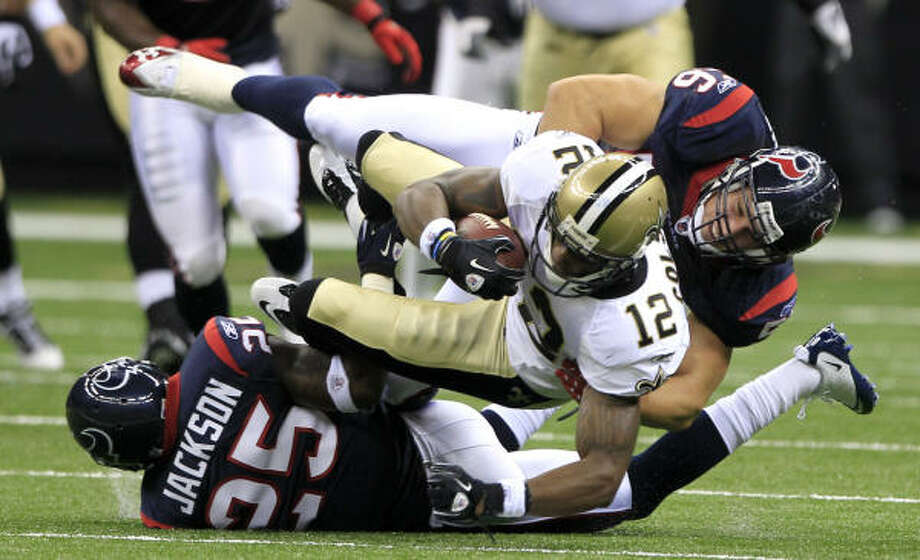 Texans linebacker Brian Cushing will be missed during his four-game suspension. Photo: Brett Coomer, Chronicle