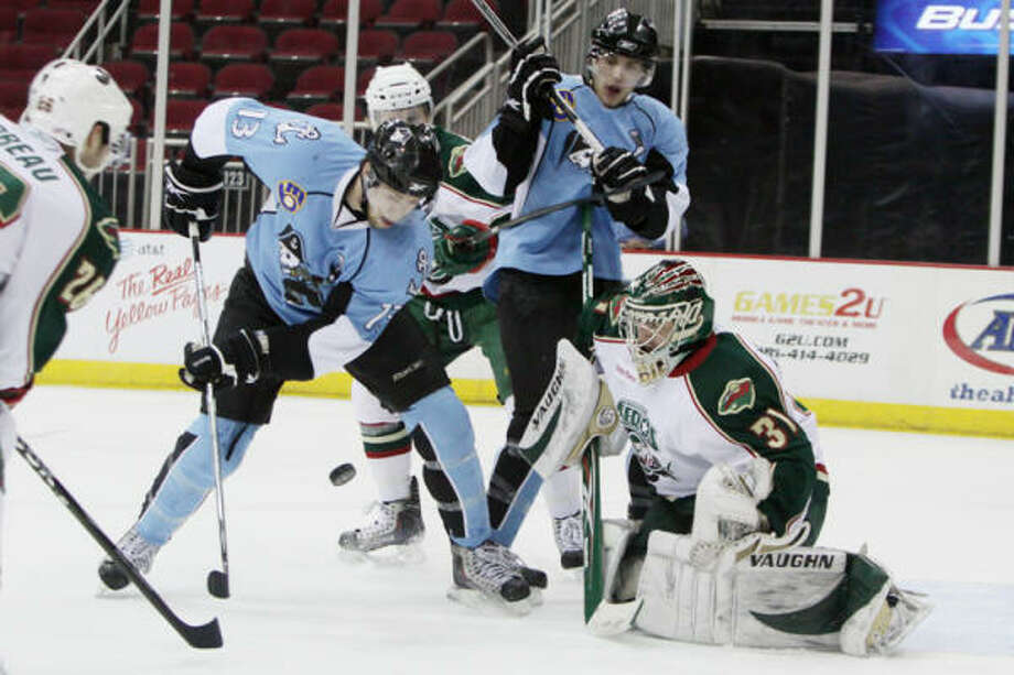 Photo: Jason Villanueva, Houston Aeros