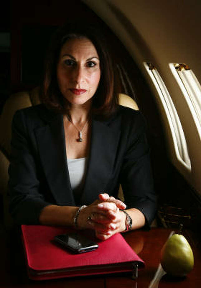 Janine Iannarelli leads Par Avion, which deals in private jets. Photo: Michael Paulsen :, Chronicle