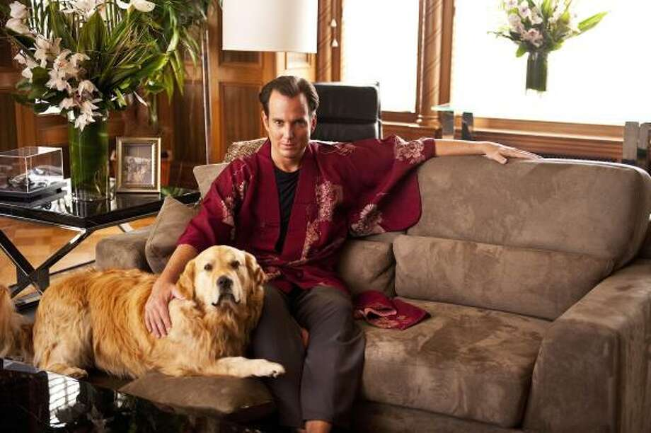 A lovable but immature playboy (Will Arnett) tries desperately to win (or buy) the heart of his childhood sweetheart, in Running Wilde, a new Fox romantic comedy premiering Sept. 21. Photo: Fox