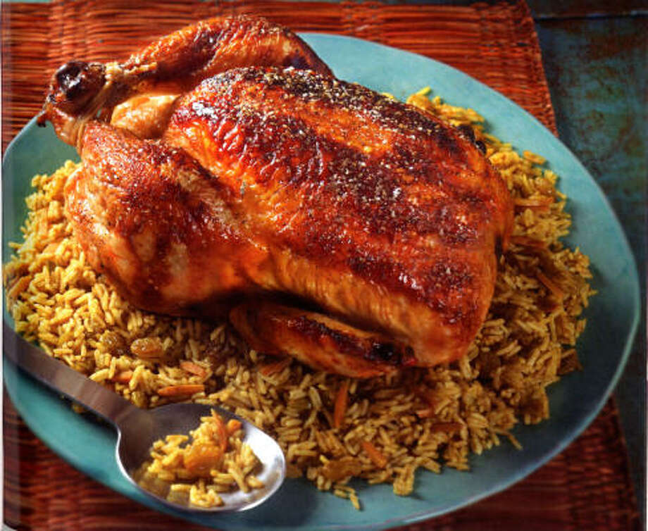 Israeli Orange and Honey-Glazed Chicken with Almonds Photo: American Diabetes Association