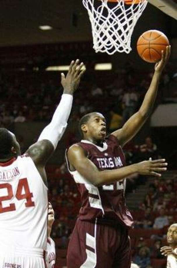 Texas A&M closed the regular season with wins in eight of their final 10 games. Photo: ALONZO ADAMS, AP