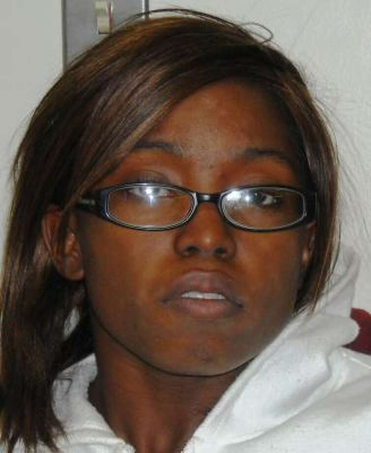 Cheretta Smith, of Galveston, is being held on $250,000 bail. Photo: Texas City Police