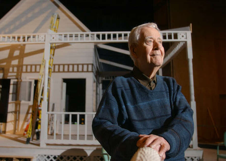 Kudos are rolling in for late Texas playwright Horton Foote's epic The Orphans' Home Cycle, a multiple-play series based on the lives of his parents in a small Texas town. Foote died in 2009. Photo: ASSOCIATED PRESS FILE
