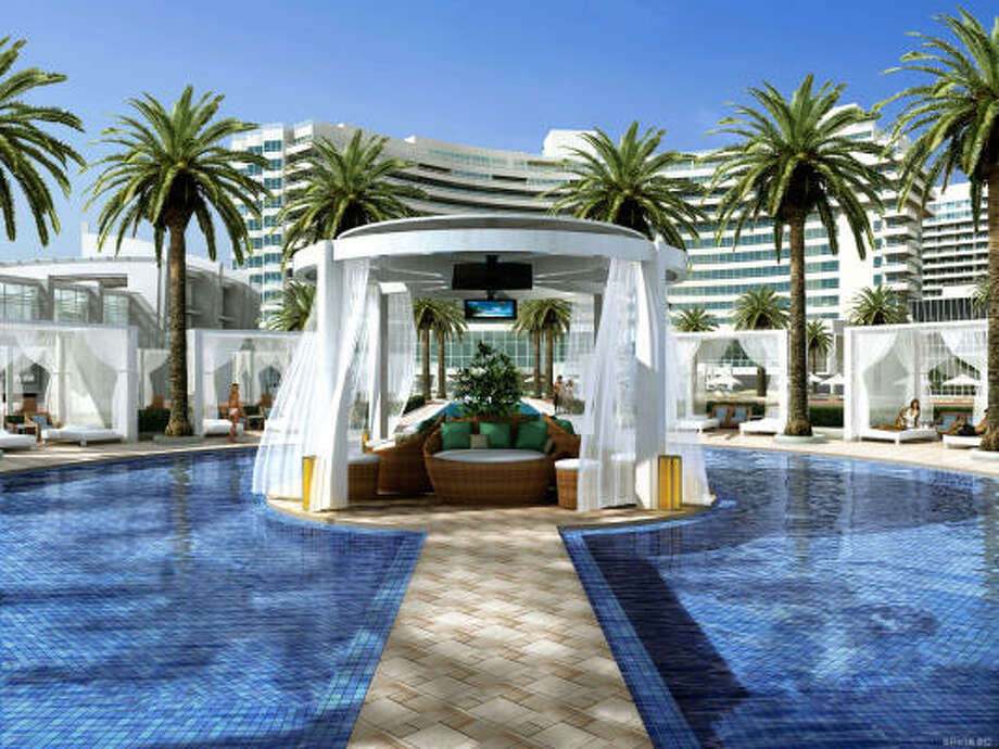 The Fontainebleau in Miami Beach is a good place to let loose. Photo: The Washington Post