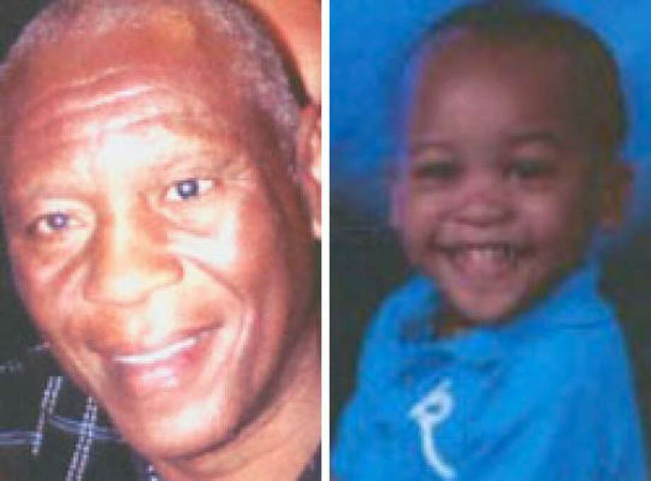 Cecil Hopkins, 58, and his grandson Demerius Garriett, 2 Photo: Handout Photos