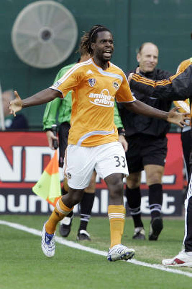 Dynamo's Joseph Ngwenya has been training as part of the team for six weeks and can be put on the team sheet Saturday against D.C. United. Photo: Haraz Ghanbari, AP