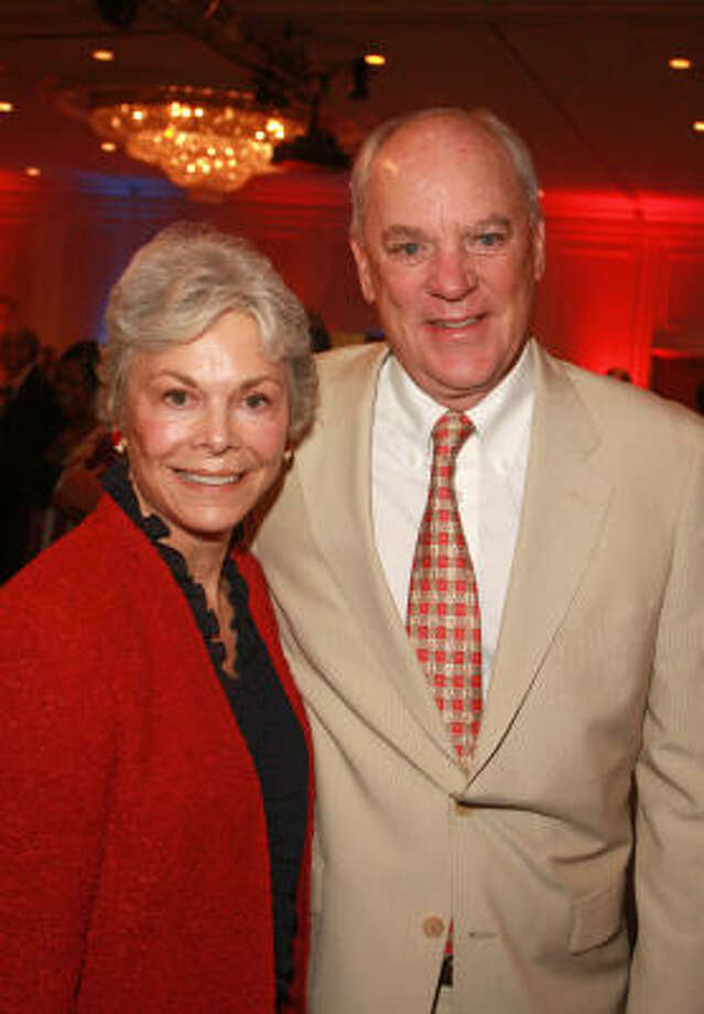 Janice and Bob McNair, above, will join the Caldwells to answer questions about prayer at the conference. Photo: GARY FOUNTAIN :, FOR THE CHRONICLE