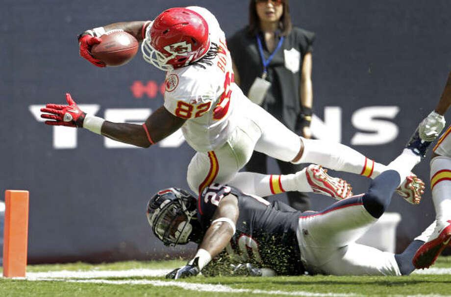 Kareem Jackson believes the Texans need to start 'making plays.' Photo: Karen Warren,  Chronicle