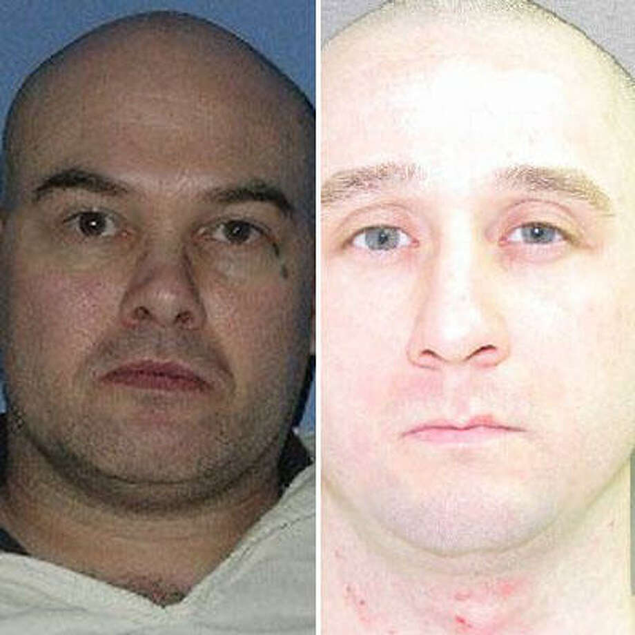 Steven Walter Cooke, left, and David Jason Michels have been linked to the Aryan Brotherhood of Texas. Photo: Handout Photos