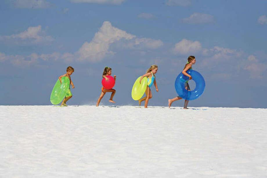 Panama City Beach, Fla., is a popular tourism destination. Photo: GARY BOGDON